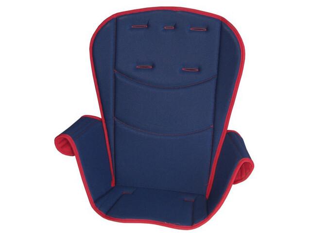 Britax Römer Jockey Comfort Sædepolstring, red/blue